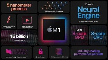 Apple M1 跑分現身 Geekbanch 網站,單核分數強但多核分數平平