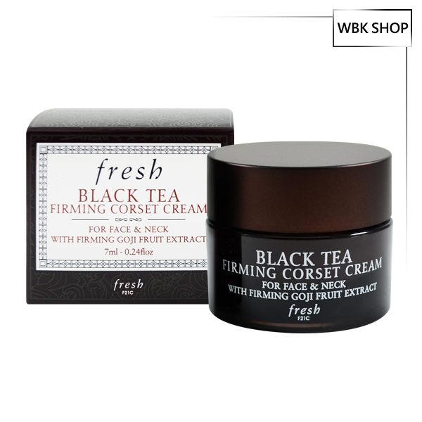 Fresh 紅茶緊緻塑顏面霜 7ml Black Tea Firming Corset Cream - WBK SHOP
