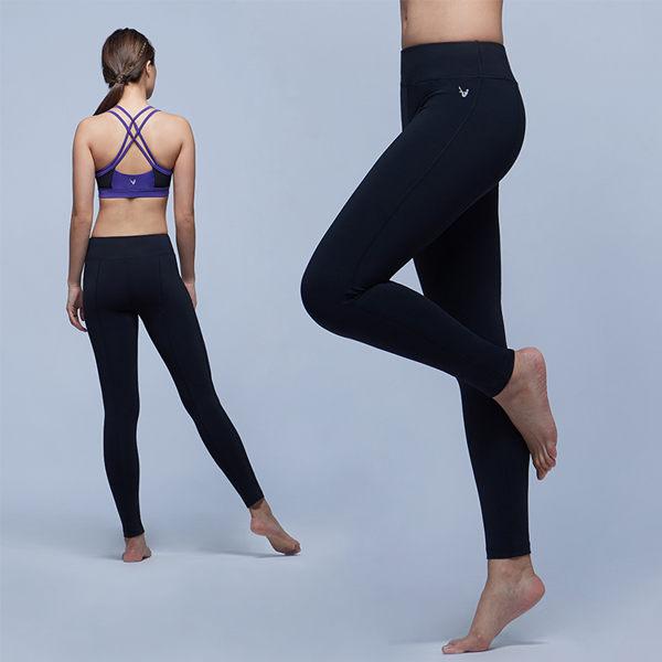 【MACACA】好日子生理瑜伽褲 - ARE7941(黑) (瑜伽/慢跑/健身/運動生活)