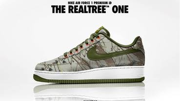 新聞速報 / Nike Air Force 1 Premium iD 八月份限定材質樹紋迷彩登場