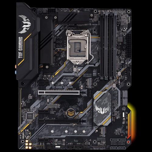 Intel® B460 (LGA 1200) ATX gaming motherboard with dual M.2, 8 power stages, HDMI, DisplayPort, SATA