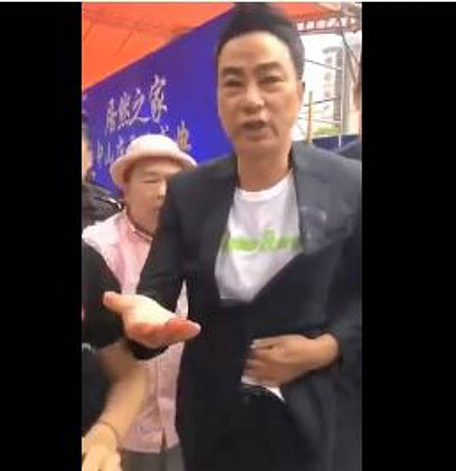 Hong Kong actor Simon Yam Tat-wah stabbed in stomach during promotional event in China
