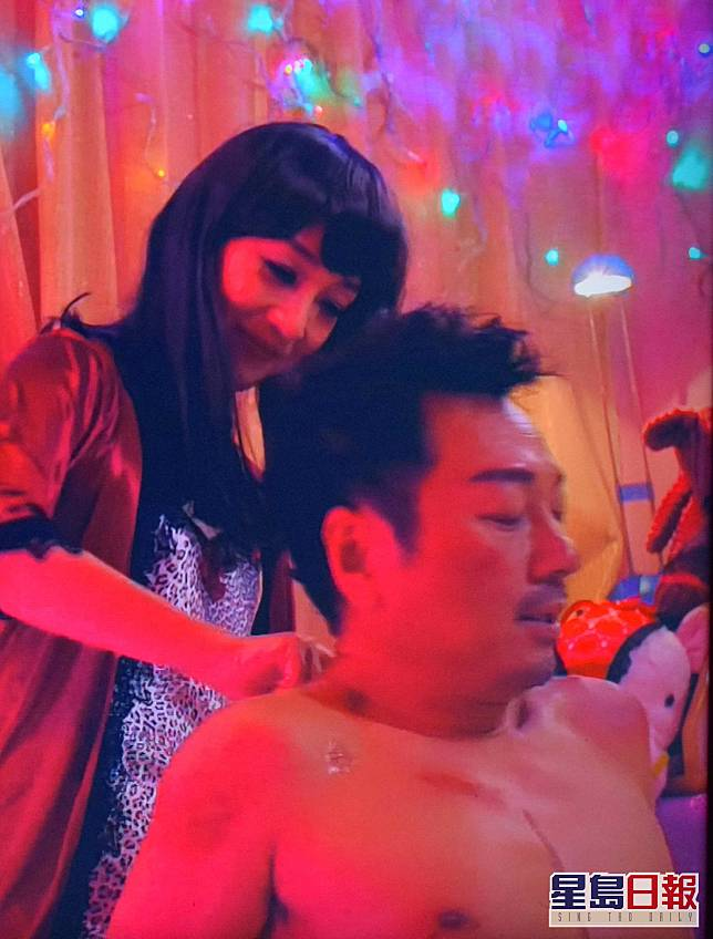 劇中同妓女江美儀有感情戲,兩人好有交流。