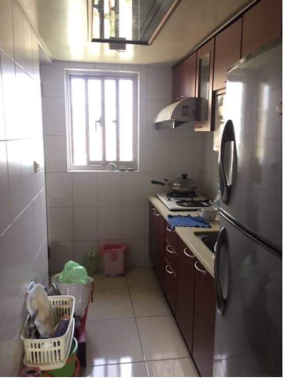 廚房改造案例六:改造前