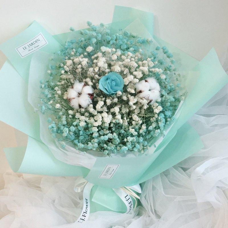 Tiffany香水花束系列-永恆的愛戀 情人節花束 永生玫瑰