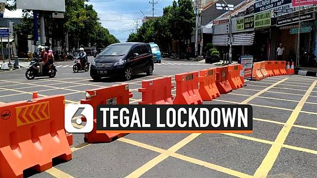 tegal lockdown