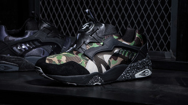 PUMA DISC BLAZE X A Bathing Ape / 猿人迷彩的低調與張狂
