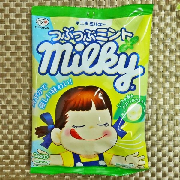 不二家薄荷牛奶糖 80g 【4902555114262】(日本糖果)