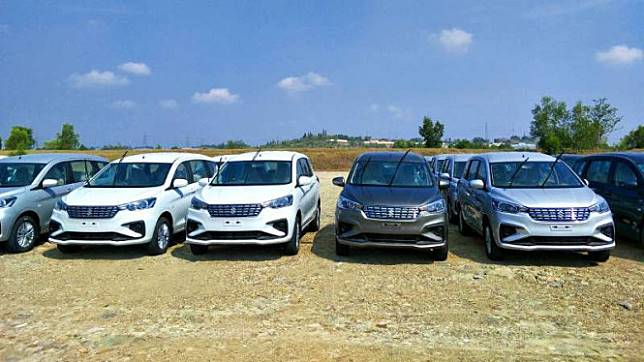 Ekspor All New Suzuki Ertiga