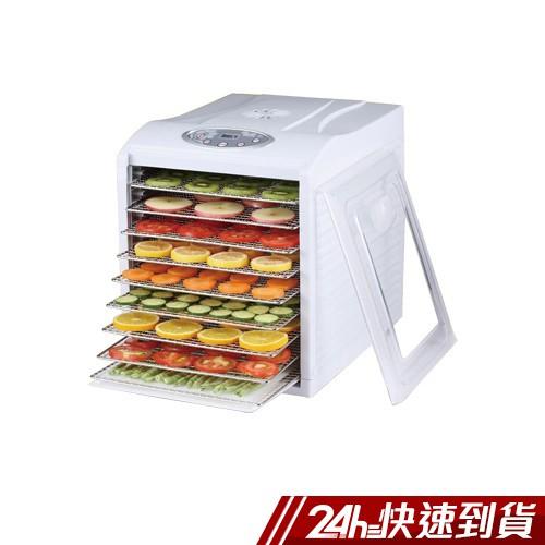 Dennys 微電腦定時溫控9層不鏽鋼層架蔬果烘乾機(DF-9090S) 蝦皮24h 現貨