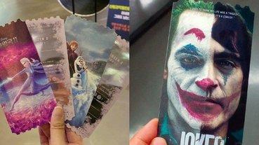 好羨慕!韓國戲院推出《冰雪奇緣 2》、《小丑》絕美電影票卡,網友:每張都值得珍藏!
