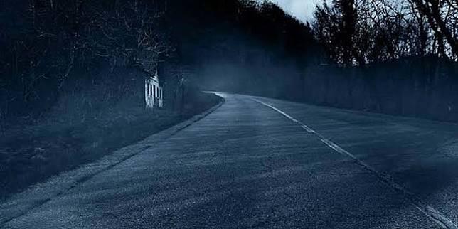 Ilustrasi jalanan berhantu (Insider)