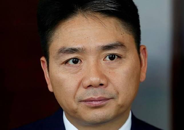 Richard Liu, CEO JD.com. Sumber: reuters/asiaone.com
