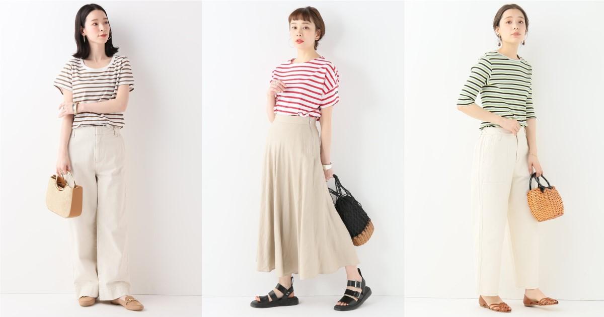 每季都好穿的「條紋上衣」準備好了!夏天就選擇多彩線條提亮穿搭