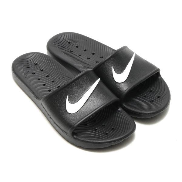 ISNEAKERS Nike Kawa Shower Slide 單勾 防水拖鞋 黑色 男女鞋 832528-001
