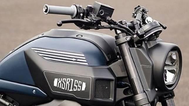 Penampakan Yamaha XSR155. (Instagram/@xsr155indonesia)