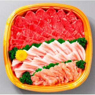 焼肉セット(牛肉・豚肉・鶏肉)