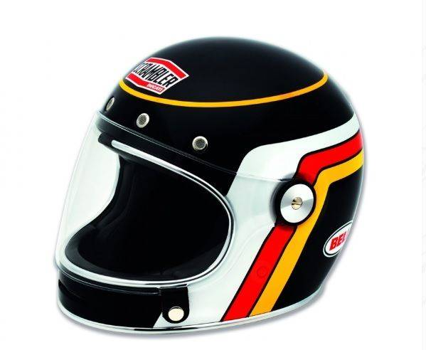 Wujud Helm Ducati Scrambler.