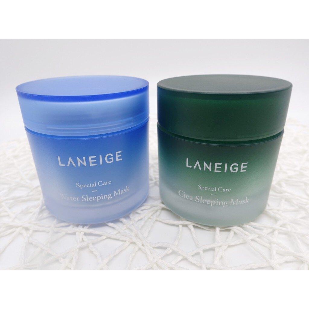 韓國 Laneige 蘭芝 晚安凍膜 70ml / 積雪草晚安面膜 60ml 2款可選