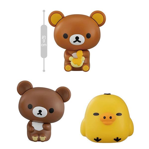 ◆懶懶熊 拉拉熊環保轉蛋第三彈好評上市! ◆一組有三款! ◆商品高約9公分