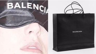 一個月內出了兩款購物袋,Balenciaga 告訴大家自己的袋子長這樣