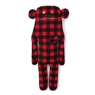 帥氣時尚的Boy系列仿真人比例大尺寸設計抱著睡覺、追劇再適合不過經典不敗的紅黑格紋