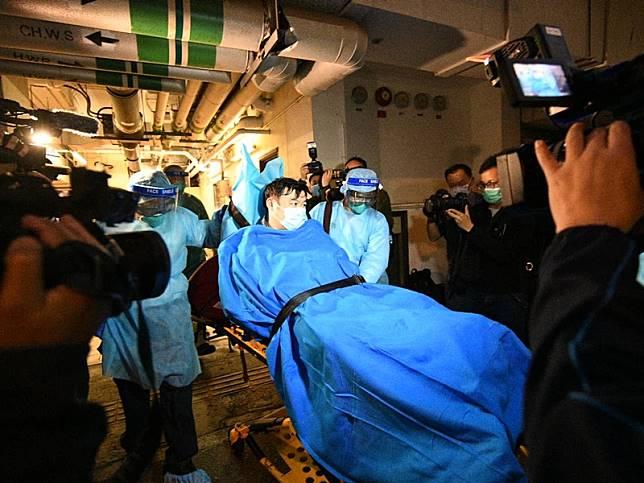 香港首宗高度懷疑感染新型冠狀病毒肺炎的個案。