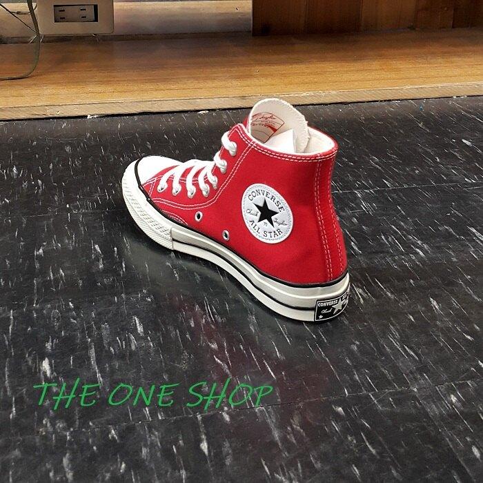 Converse Chuck Taylor All Star 70 70s 1970s 紅色 高筒 三星標 帆布鞋 復刻 164944C