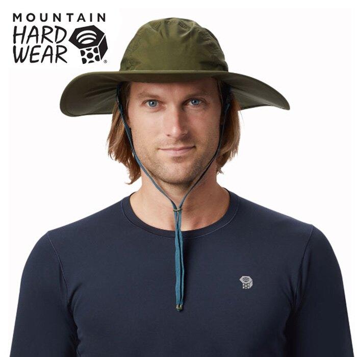 【Mountain Hardwear 美國】Exposure GTX 遮陽帽 防水帽 登山帽 深軍綠 (1878091-304)