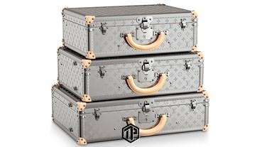 Louis Vuitton 將為 Bisten Suitcases 推出鈦金屬版本!
