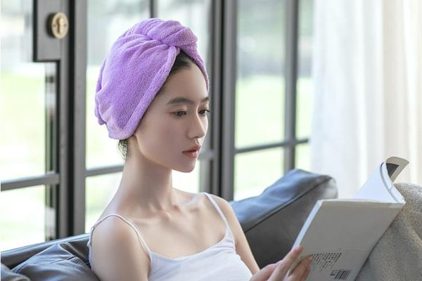 幹髮帽-2條乾髮帽女吸水包頭巾長短髮浴帽速幹毛巾可愛擦頭髮乾髮巾 完美情人精品館