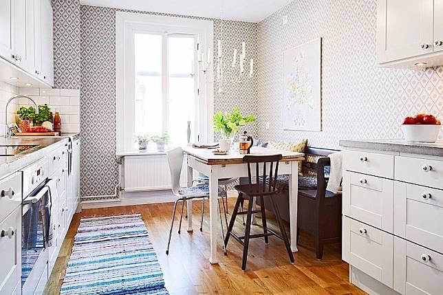 Desain Dapur Kecil Yang Terintegrasi Dengan Ruang Makan Dapurkecil Meja