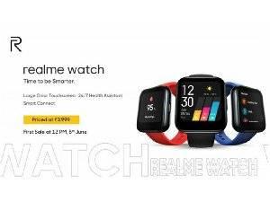 Realme Luncurkan Smartwatch