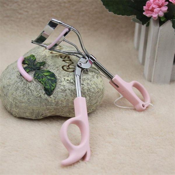 睫毛夾 睫毛輔助工具 女送替換膠墊 弾力廣角雙線捲翹