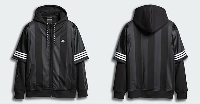 黑色運動外套(互聯網)