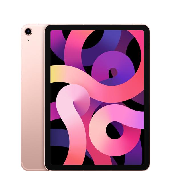 10.9 吋 iPad Air Wi-Fi + 行動網路機型 256GB - 玫瑰金色 - Apple - MYH52TA/A