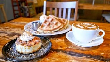 礁溪美食 文鳥公寓 咖啡甜點下午茶~可愛鳥兒陪伴吃邪惡麻糬鬆餅