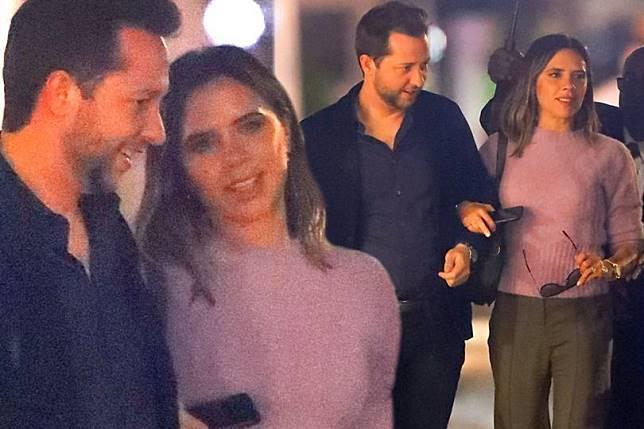 Tidak Bersama David Beckham, Victoria Beckham Terlihat Bahagia Bersama Pria Misterius, Siapa Dia?