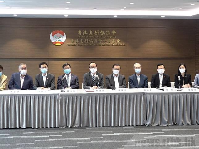 港區人大代表昨日與身兼港澳辦主任的全國政協副主席夏寶龍會面,引述對方表示,訂立了「港區國安法」後,都不會出現「以言入罪」。