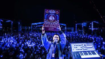 炸裂中正紀念堂舞池 DJ J. Espinosa 奪得 Red Bull Music 3Style 世界 DJ 大賽冠軍