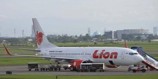 Pesawat Lion Air. ©2013 Merdeka.com/imam buhori