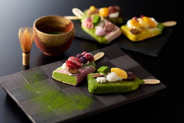 """""""Matcha Parfait Bars"""" พาร์เฟ่ต์ในรูปแบบไอศกรีมแท่งจากเมืองอูจิ จังหวัดเกียวโต"""