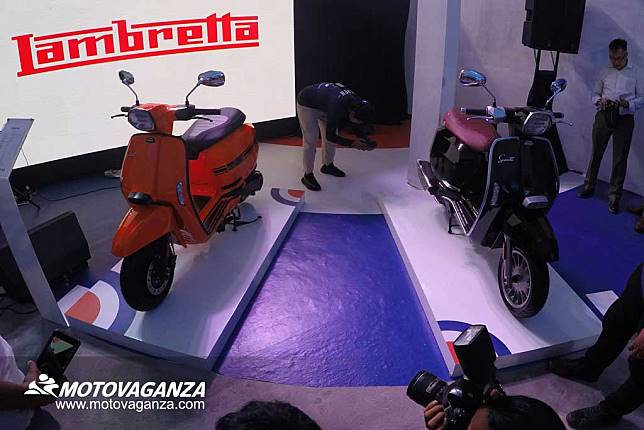Lambretta V-Special Dibanderol Mulai Rp 44,5 Juta