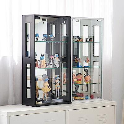 模型收藏 公仔收納5mm厚玻璃層板孔內部間距7cm可調整玻璃高度台灣精品製造