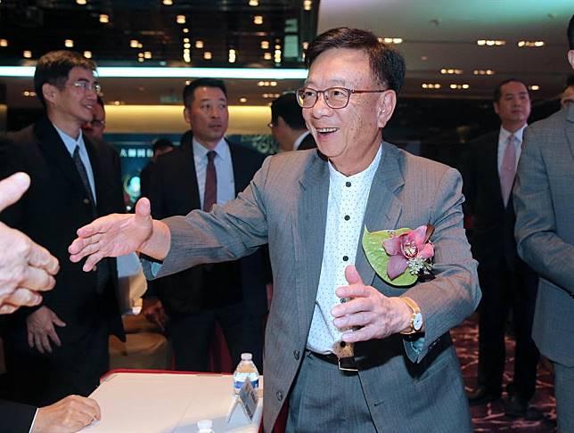 聯華電子榮譽副董事長宣明智。(黃世麒攝)