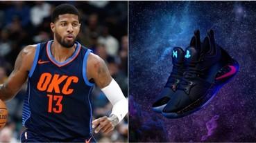 〔開包攻略〕「球鞋 x 電玩」事件再一發!PlayStation 找知名球星合作 推出 PG–2「PS4」限量簽名鞋款!