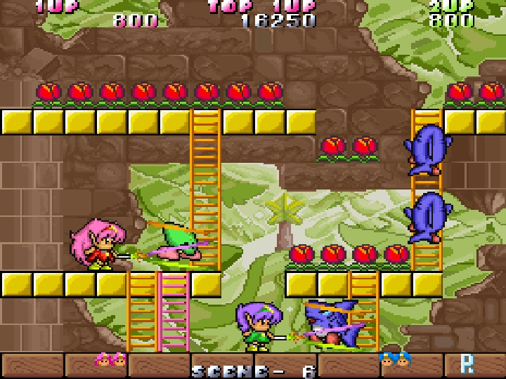 玩家除了可以透過關卡中既有的樓梯移動,還可以自己架設樓梯,增加不少機動性。