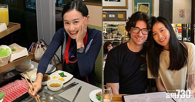 無懼疫情 38歲陳法拉與夫打邊爐慶生日
