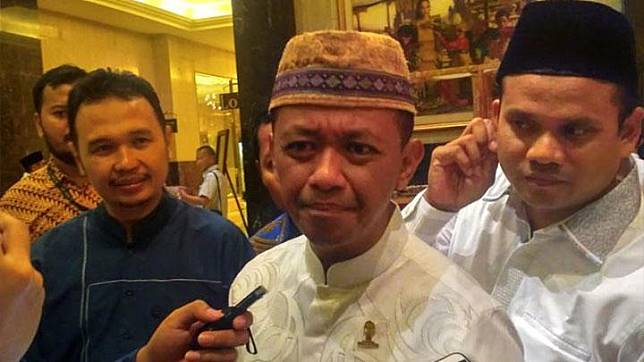 Ketua Umum HIPMI, Bahlil Lahadalia, di Hotel Ritz Carlton, Jakarta Pusat, Ahad, 26 Mei 2019. TEMPO/Egi Adyatama