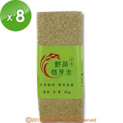 金廣農場 活粒胚芽米8包(2kg/包)